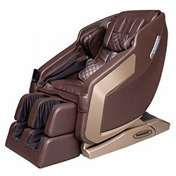 Original SUNHEAT Infrared Zero Gravity Massage Chair - Brown