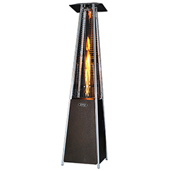 Original SUNHEAT Square Patio Heater - Golden Hammered