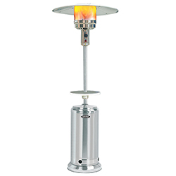 Original SUNHEAT Round Patio Heater - Stainless Steel